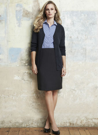 20112 Womans Bandless Lined Skirt