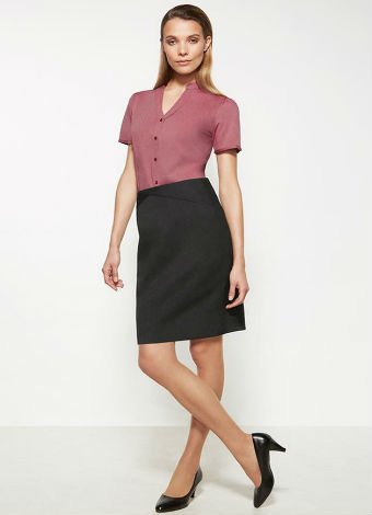 20114 Womans Chevron Skirt