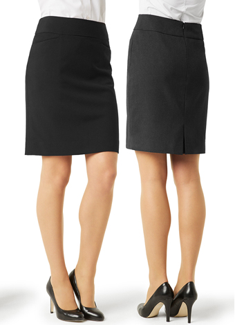 BS128LS Ladies Classic Knee Length Skirt